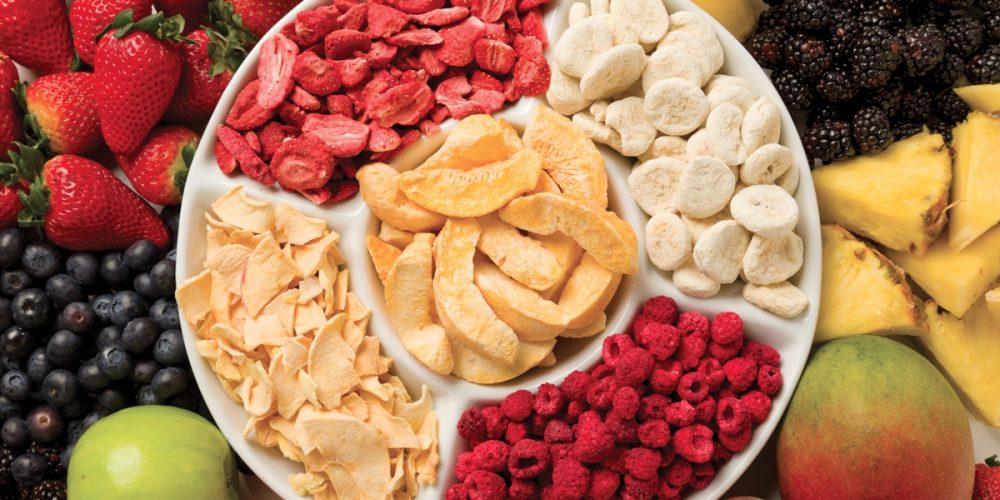 Frutas y Verduras deshidratadas. Saludablemente secas.